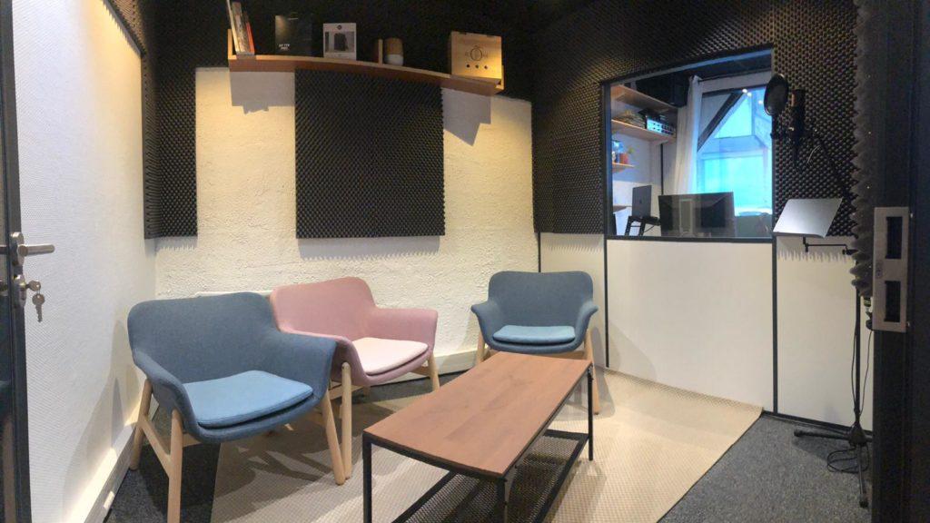 Studio Voix et Podcast Alvéole Nantes